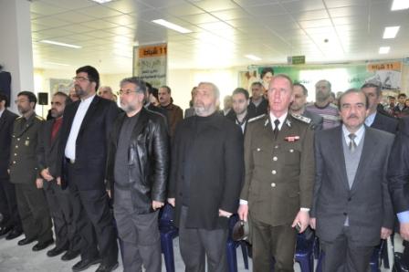 في مستشفى الشهيد راغب حرب 14 2 2012
