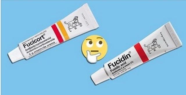 رغم التشابه، إحذري الفارق ما بين أنواع الـFucidin والـFucicort!