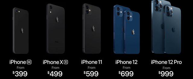 شركة أبل تطلق iphone 12 ... اليكم الاسعار والمواصفات